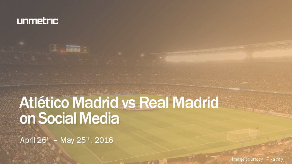 champions league finals on social media