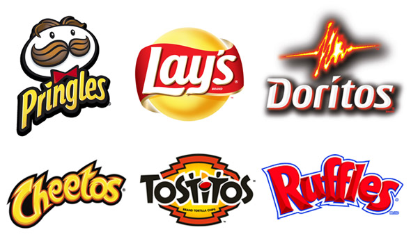 Salty Snack Logos